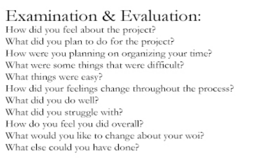 Questions to ask for critical reflection essay